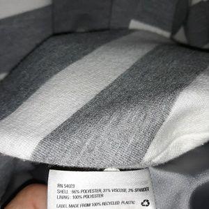 GAP Jackets & Coats - Gap Academy blazer. Gray & white stripes 8